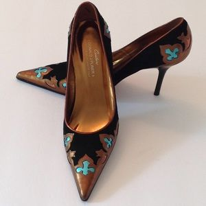 🇮🇹Donald Pliner Couture 'Coyate' Pointy Toe Heel